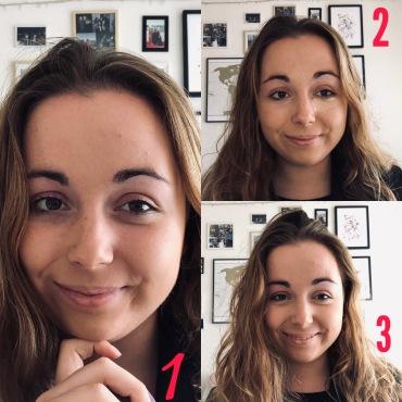 Gesichtsgrundierung
